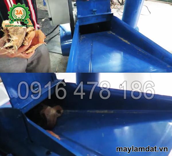 Kỹ thuật viên vận hành Máy băm rơm rạ, vỏ dừa khô 3A15Kw