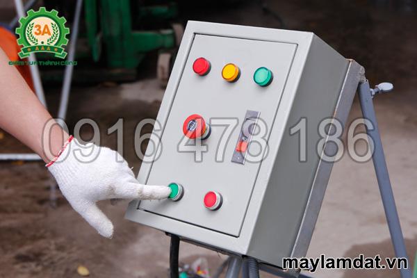 Tủ điện của máy nghiền mùn cưa, cám ngô 3A7,5Kw