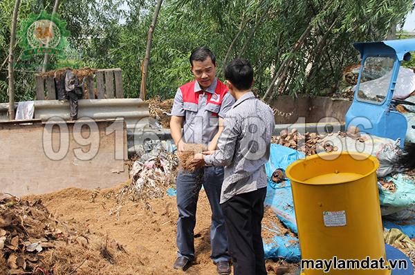Nhà sáng chế Máy làm xơ dừa 3A4Kw - Nguyễn Hải Châu