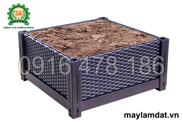 Khay nhựa trồng rau 3A đảm bảo chất lượng đất