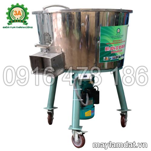 Hình ảnh máy trộn nguyên liệu trồng cây 3A3Kw 1 pha