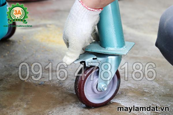 Bánh xe của máy trộn nguyên liệu trồng cây 3A3Kw 1 pha