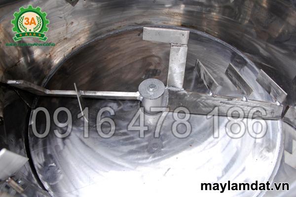 Thùng trộn của máy trộn nguyên liệu trồng cây 3A3Kw 1 pha
